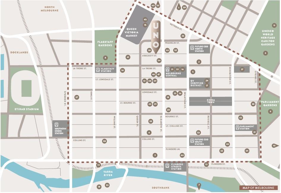 UNO Location Map 2