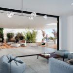 Indoor Garden & Yoga Deck