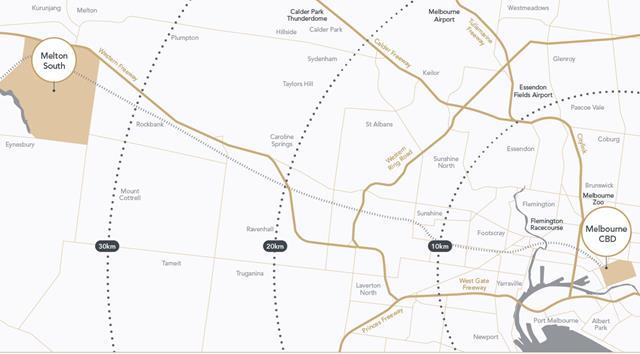 Location Map, Steadfield